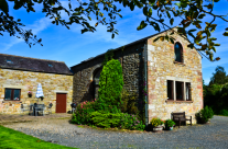 Hadrian's View is a converted medieval barn